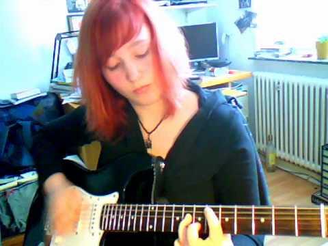 Edguy - Vain Glory Opera (lead guitar cover)