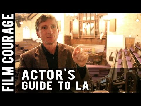 An Actor's Guide To Making It In Los Angeles - Complete Film Courage Interview with Bill Oberst Jr.
