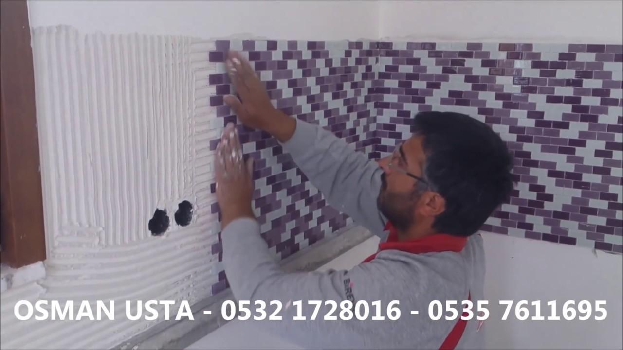 Mutfak Tezgahları Mozaik Osman Usta 0532 1728016 Youtube