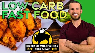 LOW CARB FAST FOOD | Keto Buffalo Wild Wings At Home (CRISPY Oven Recipe!)