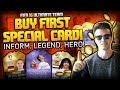 BUY FIRST SPECIAL CARD (LEGENDE/HERO/INFORM) - FIFA 16 Ultima...