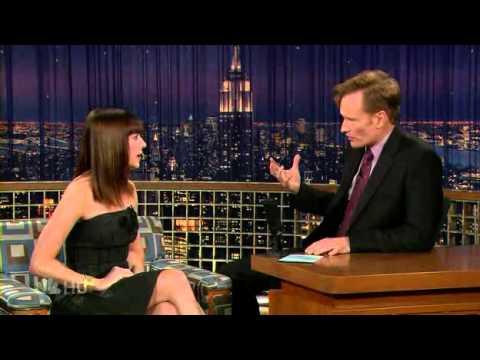 Alyson Hannigan on Conan 2007