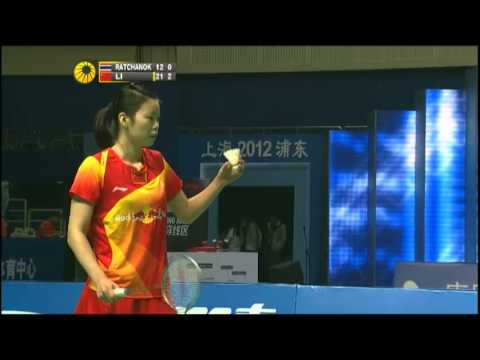 F - WS - Li Xuerui vs Intanon Ratchanok - 2012 China Open