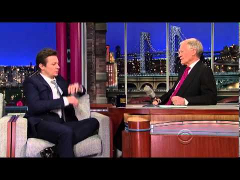 Jeremy Renner on the Late Show with David Letterman (Jan 17, 2013)
