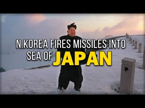 N.KOREA FIRES MISSILES INTO SEA OF JAPAN