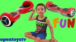 big surprise present (2) and toys review hoverboard - kids toy