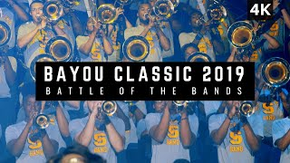 Bayou Classic 2019 Battle of the Bands | Southern vs Grambling [4K ULTRA HD]