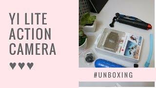 Yi Lite Action Camera | Unboxing | Budget Action Camera | Gail Um