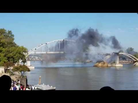 Broadway bridge explosion epic fail