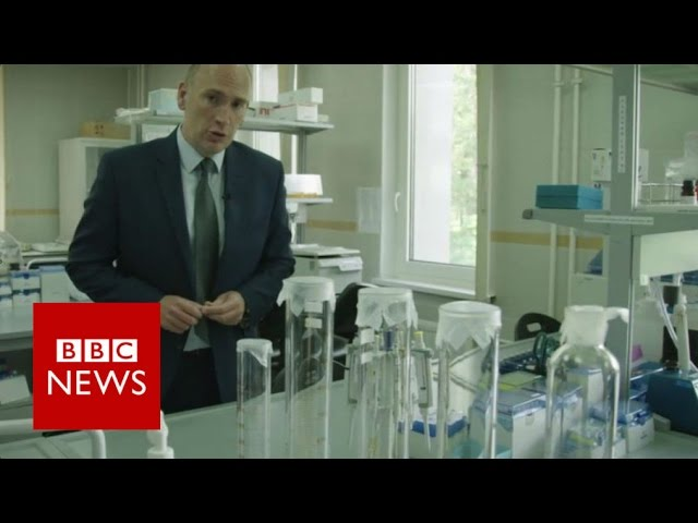 Inside infamous Moscow anti-doping lab - BBC News