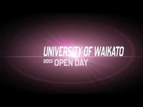 University of Waikato Open Day 2013