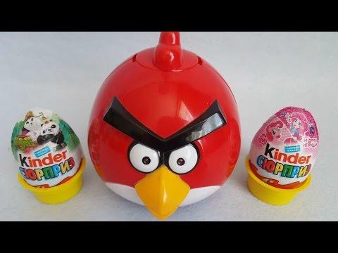 Kung Fu Panda Trolltech small eggs Ma Baoli was angry birds eggs功夫熊貓奇趣蛋小馬寶莉出奇蛋 憤怒的小鳥