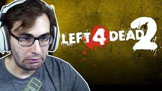 LEFT 4 DEAD 2 - Jogando Pela Primeira Vez!