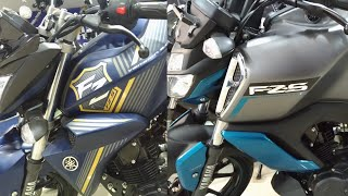 Differences in Yamaha FZS FI V2.0 and V3.0!