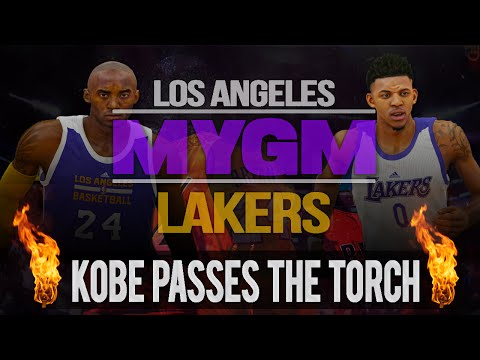 NBA 2K15 My GM Mode Ep.1 - Los Angeles Lakers   Kobe Passes The Torch   PS4