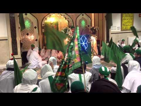Dawat-e-islami Subhay Bahaara Mehfil 2013 Hd - Muhammad Usman Qadri Attari - Jashnay Aamaday Rasool video
