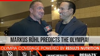 Markus Rühl Predicts The 2015 Mr. Olympia Contest!