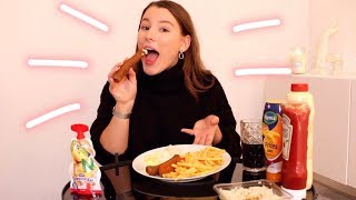 FRITUUR MUKBANG!!! PATAT + SNACKS ✰ All About Leonie