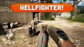 HELLFIGHTER! - Battlefield 1 | Road to Max Rank #5 (Multiplayer Gameplay)