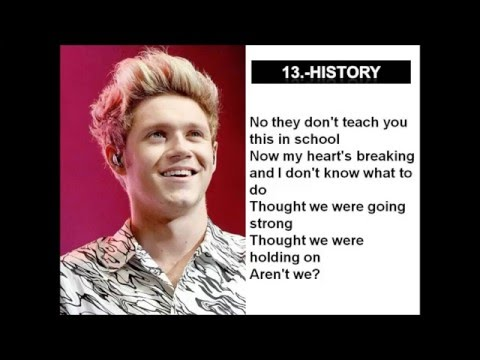 "Niall Horan solos in ""Made In The A.M."" (w/ Lyrics)"