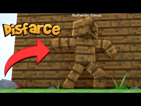 Minecraft: DISFARCE DE MADEIRA – (Esconde-Esconde)