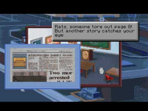 Let's Play Police Quest 1 VGA part 2: the first briefing