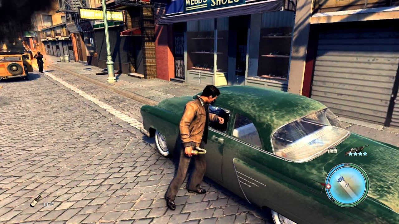 Mafia Weapons Mafia 2 Gameplay All Weapons