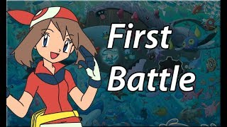 Bobkata Play: Pokemon Sapphire Monotype Challenge - First Battle with May