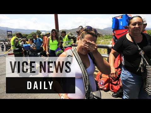 VICE News Daily: Venezuela Deports Colombians in Border Dispute