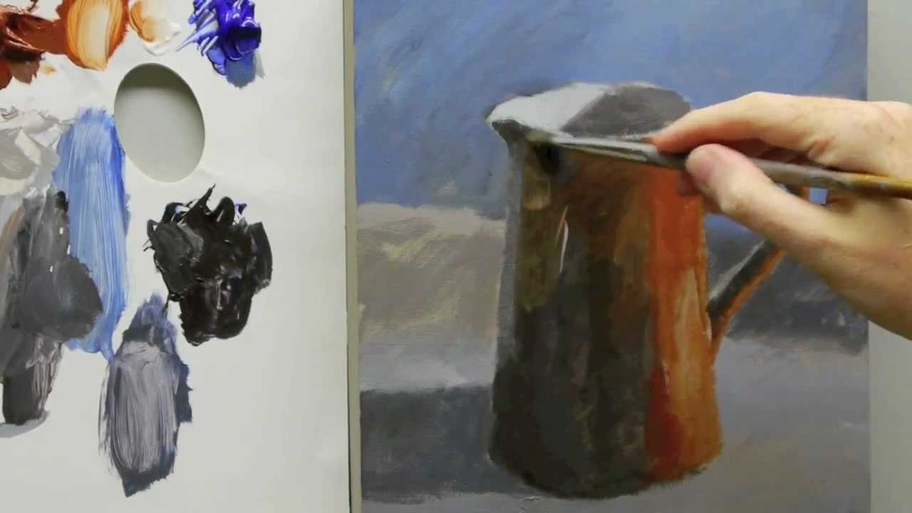 Acrylic Still Life Painting For Beginners Part 3 Of 3