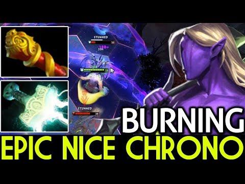 Burning [Faceless Void] Epic Nice Chrono 7.15 Dota 2