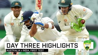 Advantage India in Adelaide arm-wrestle | First Domain Test