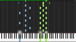 Download Lagu Adagio In D Minor - John Murphy [Piano Tutorial] (Synthesia) Gratis STAFABAND
