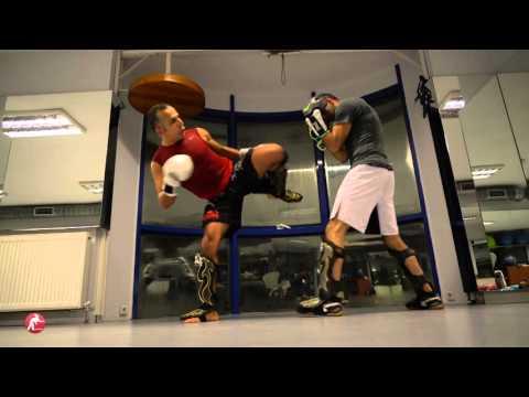 Kick Boks Teknik Antrenman Maçı (Sparring)