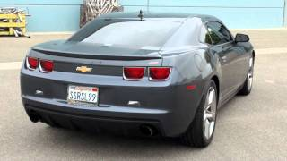Bassani Xhaust on 2010 Camaro with Supercharger