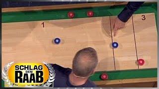 Spiel 12: Tisch-Shuffleboard - Show 42 - Schlag den Raab
