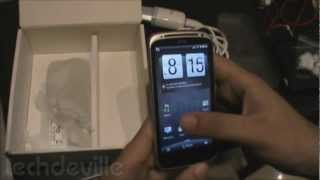 HTC Sensation XE Unboxing