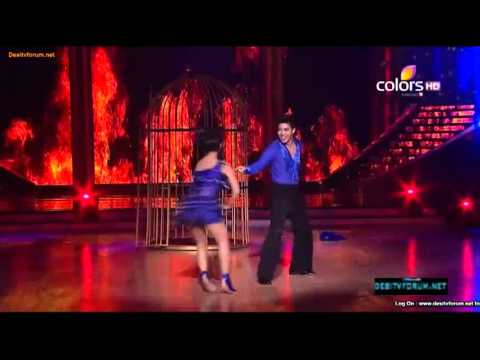 Las Vegas Int Dancer Brent & Jdj Conte Rashmi Desai Performance On  Piya Tu Ab To Aaja (cha-cha-cha) video