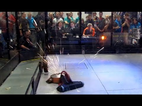 RC Fighting Robot Wars - Inertia XL v's Tilley's Revenge - 2013 Combat Robots UK Championships