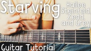Download Lagu Starving Guitar Tutorial // Hailee Steinfeld, Zedd, and Grey Guitar Lesson! Gratis STAFABAND