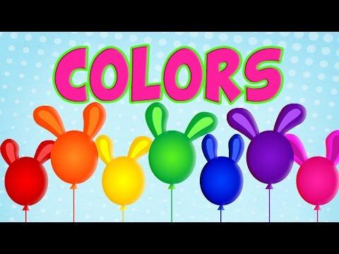 Lets learn COLORS with Sweet Tuti | Main Colors | Preschool Education | İngilizce Eğitimi