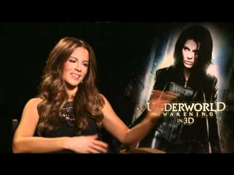 Kate Beckinsale Interview for UNDERWORLD AWAKENING