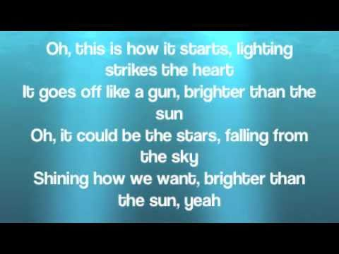 Colbie Caillat - Brighter than the sun with lyrics