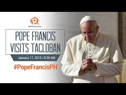 #PopeFrancisPH: Pope Francis in Tacloban, Palo