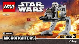 LEGO Star Wars 75130 AT-DP Microfighter (Instruction Booklet)