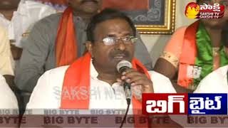 BJP MLC Somu Veerraju Big Byte || Slams Chandrababu