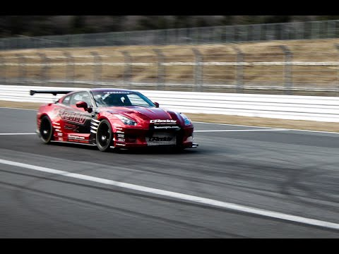 GReddy 35RX GT-R - Fuji Speedway Top Speed Challenge