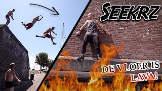 DE VLOER IS LAVA! Freerun challenge!