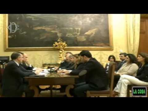 Consultazioni tra Enrico Letta e M5S