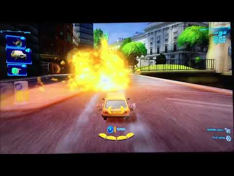 Cars 2 The Video Game Victor Hugo Mission:Sour Lemons without using the turbo boost